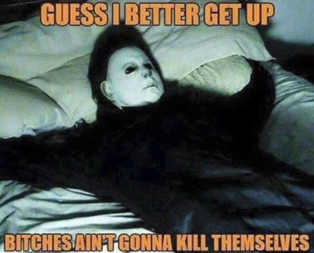 funny michael myers memes