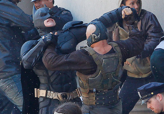New Dark Knight Rises Pictures