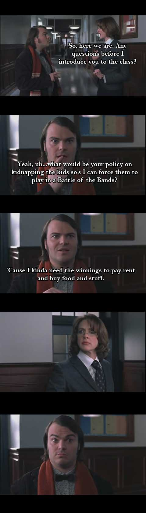 school of rock if movies were real