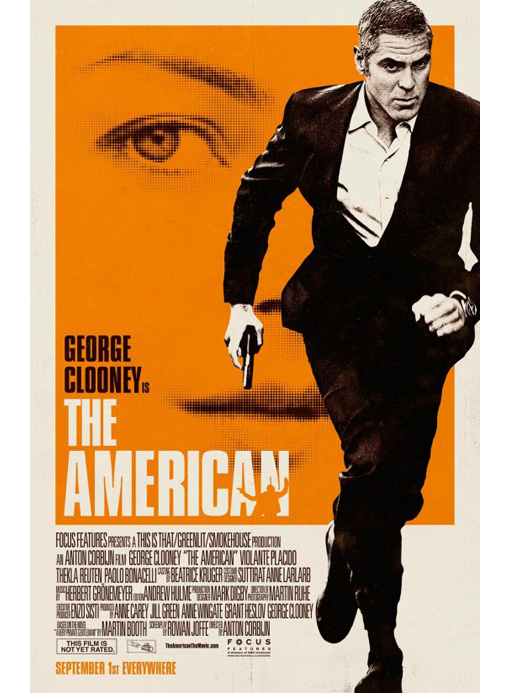 George Clooney The American Trailer & Poster