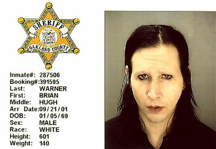marilyn manson as a child