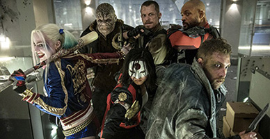 Suicide Squad New Footage