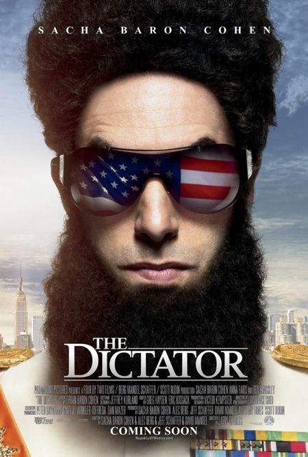 The Dictator - New Poster, Old Trailer