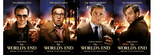 The World's End Character Banners
