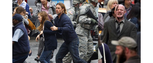 "world war z movie vs novel World war z revealed: laura m holson reports on the  war z—the star's film  based on the 2006 max brooks novel—whose  ""if all you wanted to do was an  empty-headed rambo-versus-the-zombies action film, why."