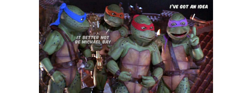 New Teenage Mutant Ninja Turtle Movie 2012 - News