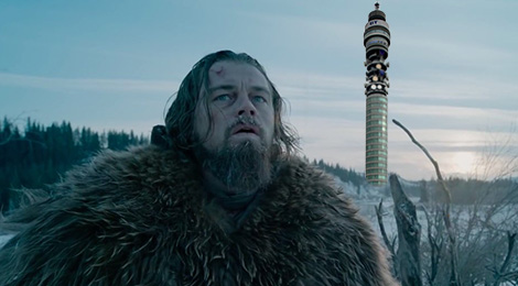 Watching The Revenant At The BT Tower