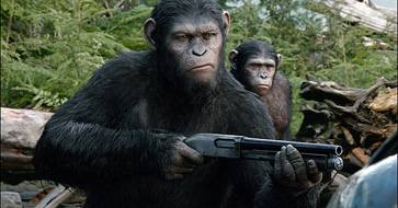 Dawn Of The Planet Of The Apes Review (Midnight Movie Madness)