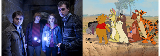 Harry Potter Deathly Hallows Part 2 Reviews & Winnie The Pooh Reviews