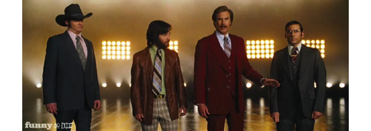 Anchorman 2 - Two Teaser Trailers