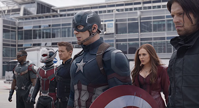 Captain America: Civil War New Trailer showing Spider-Man
