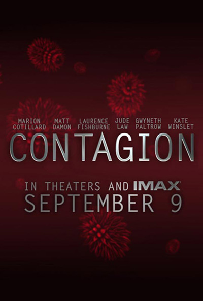 Contagion - Poster (2011, Matt Damon)