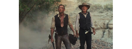 Harrison Ford / Daniel Craig - Cowboys And Aliens Trailer
