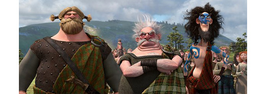 Pixar Brave - New Trailer