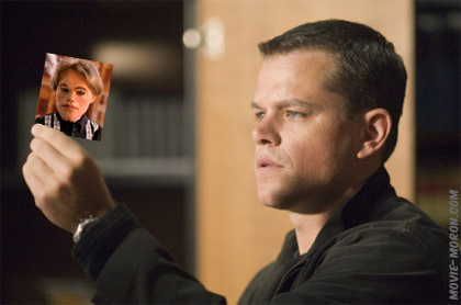 Matt Damon Being Serious